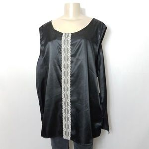 Tops - NWT DUCHESS ISABEL Lace Sleeveless Blouse Plus 3X